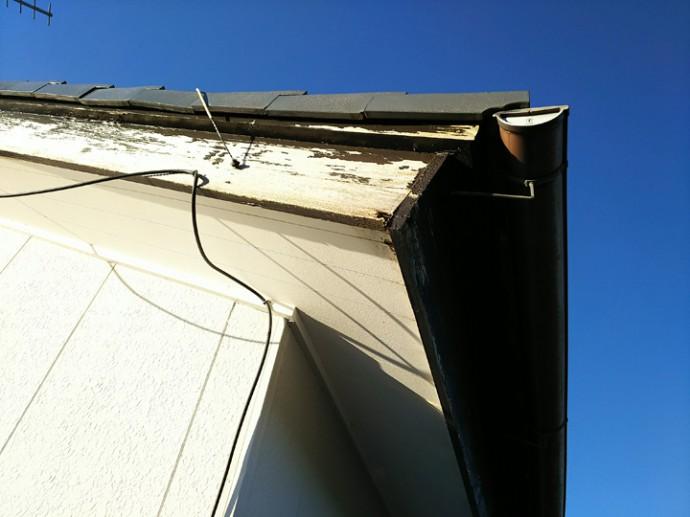 破風板の状況