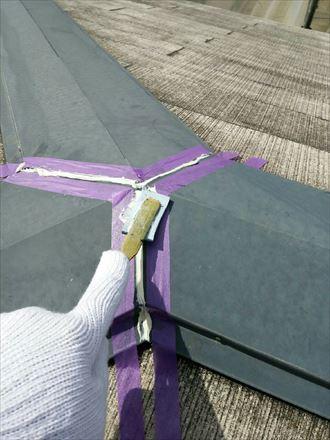 君津市 屋根の塗装工事 下処理009_R