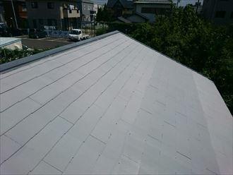 遮熱塗料で屋根塗装