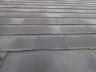 野田市上花輪で行った化粧スレート屋根調査で防水性の低下は反りの発生に繋がります