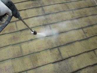 屋根塗装の下準備