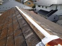 屋根カバー工法施工前