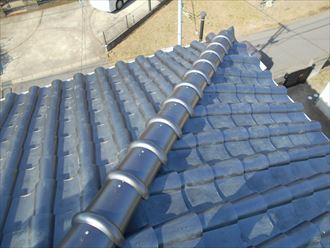 いぶし瓦の屋根