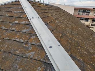 脳天打ちが施されている棟板金は雨漏りの原因になります
