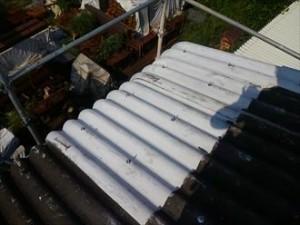君津市の工場屋根・雨樋補修工事