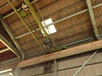 君津市 工場雨漏り調査