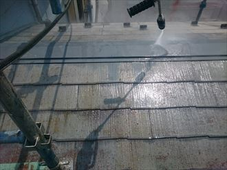 千葉市緑区 洗浄 屋根塗装                                             001_R