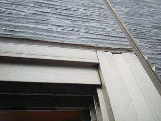 窓枠からの雨漏り