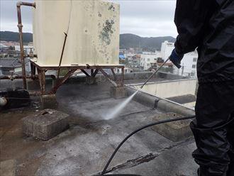 鴨川市 ビルの漏水 防水工事011_R