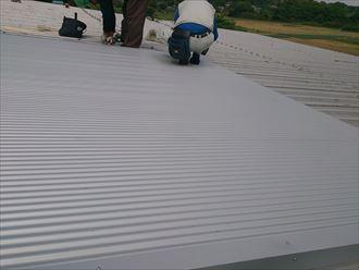 柏市 工場の屋根部分カバー006_R
