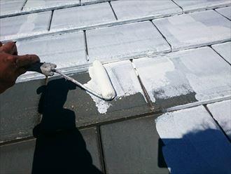 市原市 セメント瓦 屋根塗装工事008_R