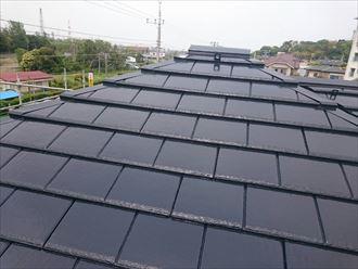 市原市 セメント瓦 屋根塗装工事001_R