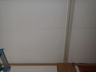 木更津市大久保で1階雨漏りの調査工事に伺いました