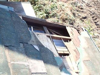 スレート屋根 剥がれ