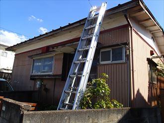 木更津市の雨漏り調査 瓦棒屋根や雨樋補修見積もり依頼です