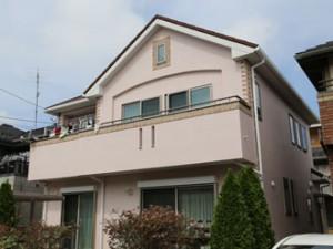 屋根カバー後 外壁塗装後