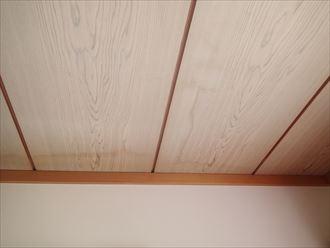君津市大井戸の屋根調査 室内