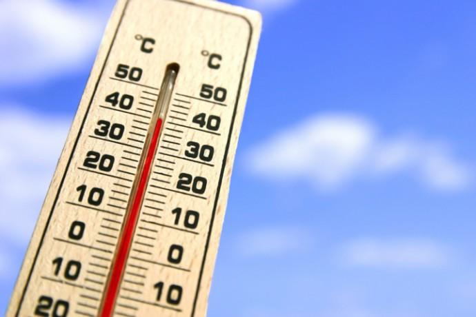 気温40℃