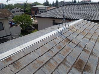 市原市 コロニアル屋根の塗装