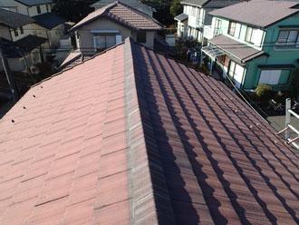 印西市 瓦屋根補修前点検