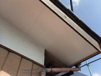軒天の張替え工事