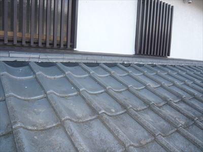 木更津市|棟取り直しと漆喰詰め直し工事で雨漏りを改善!