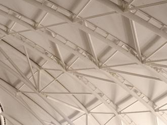 樹脂製のドーム屋根