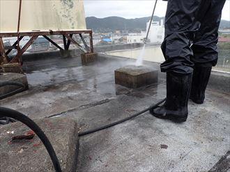 鴨川市 ビルの漏水 防水工事012_R