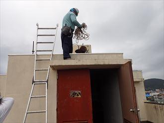 鴨川市 ビルの漏水 防水工事003_R