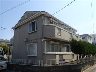千葉市中央区でアパートの屋根調査に伺いました