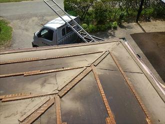 君津市 屋根葺き替え工事 GL波板002_R