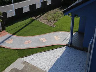 木更津市 裏庭の整備 サンプル002_R