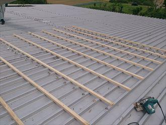 柏市 工場の屋根部分カバー007_R