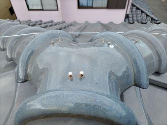 棟の釘浮き