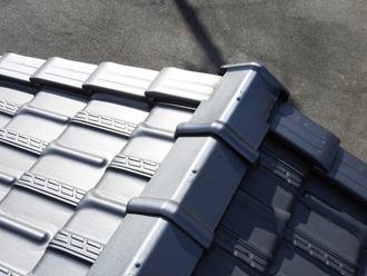 F形瓦の屋根