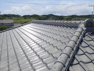 いすみ市で和瓦からスーパーガルテクトへの屋根葺き替えを実施、約10tもの軽量化に成功!