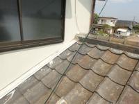瓦屋根の雨漏り