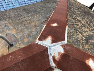 千葉市中央区|強風で飛散した棟板金を交換工事で改善(樹脂製貫板)