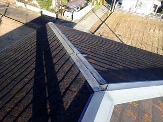茂原市のコロニアル屋根板金交換工事が完了致しました