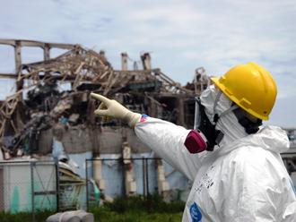 震災後の原子力発電所