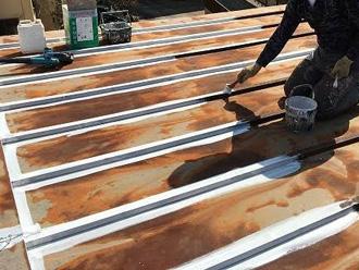 トタン屋根の塗装