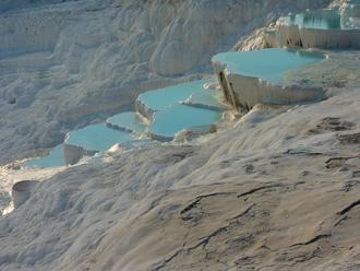 石灰岩の大地